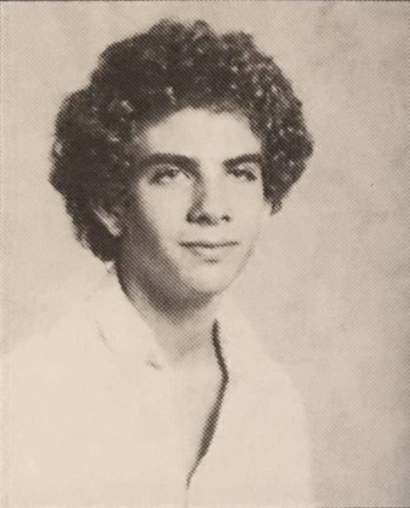 Photo of Ray in 1983